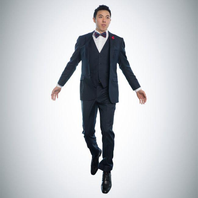 Navy Blue Notch Suit: Prom | MODELS MENS ACTORS MOVIES SUITS TUXEDOS ...