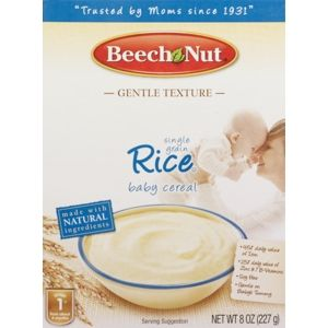 Beech-Nut Homestyle Single Grain Rice Baby Cereal Stage 1 ... |Cvs Baby Food
