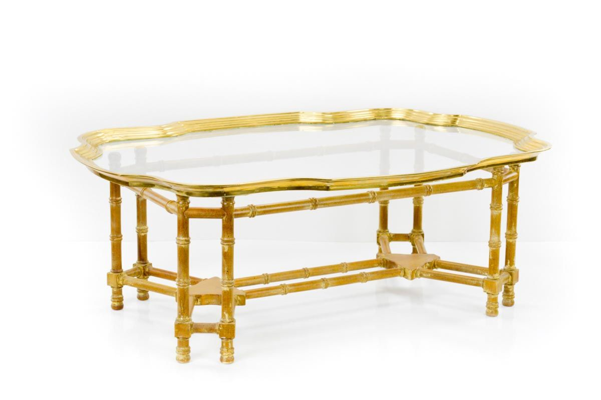 Br Bamboo Coffee Table