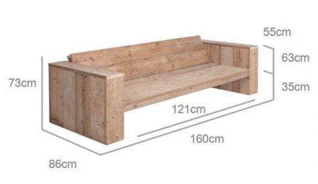 Coole Bank | Holzsofa, Diy gartenmöbel und Möbel aus paletten