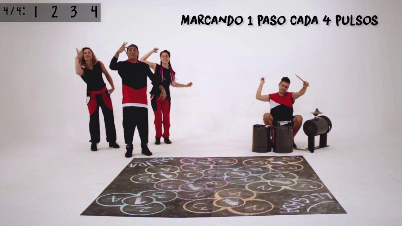 Juegos De Ritmo Rayuela Trebol Juego Pedagogico Musical
