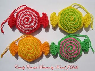 Knitted and Crocheted candy