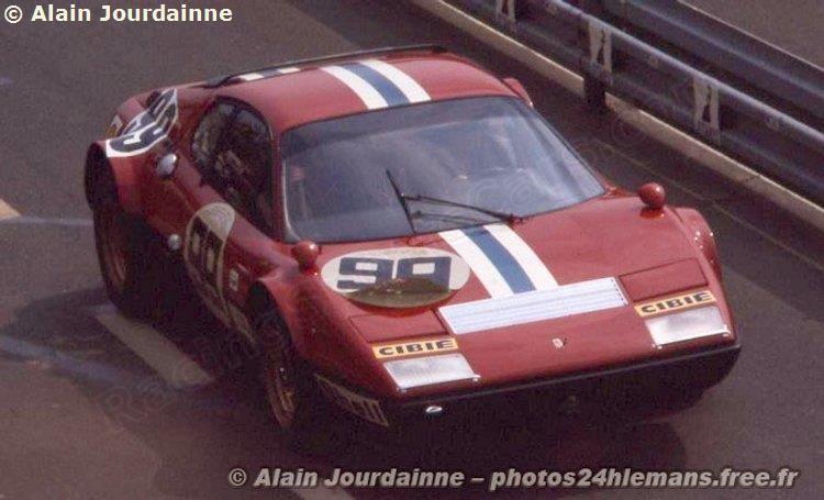 Le Mans 1975 N 99 Ferrari 365 Gt4 Bb 18095 North American Racing Team Ferrari Classique
