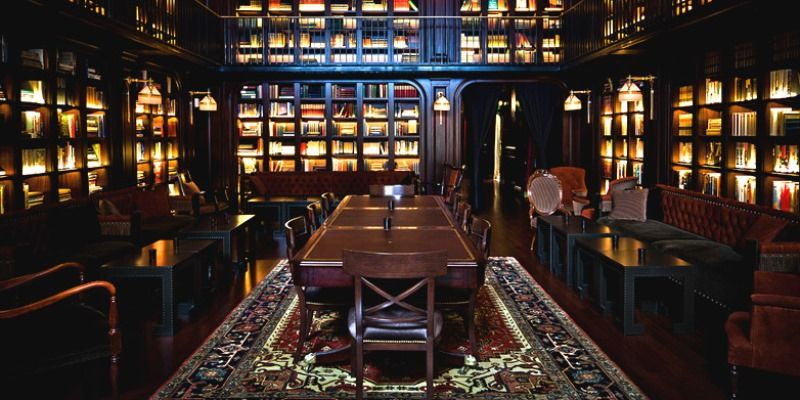 Library Bar @Nomad Hotel