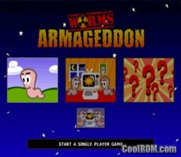Worms Armageddon ROM (ISO) Download for Sony Playstation / PSX