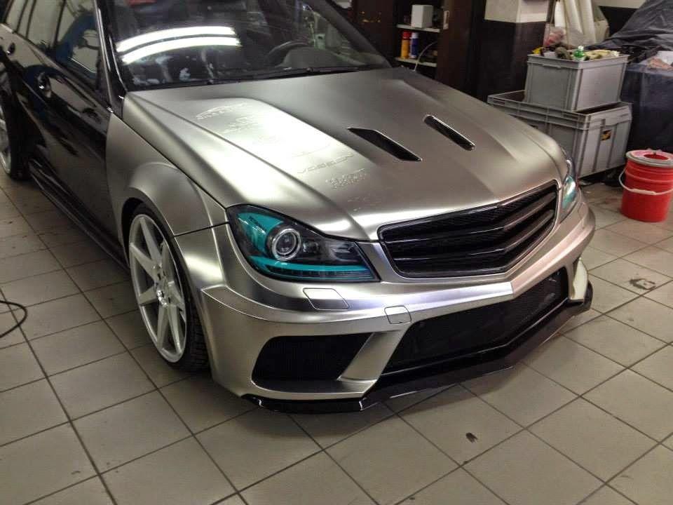 Mercedes c63 amg t model black series petronas f1 edition for Mercedes benz c230 amg