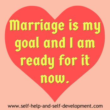 When am i ready to get married