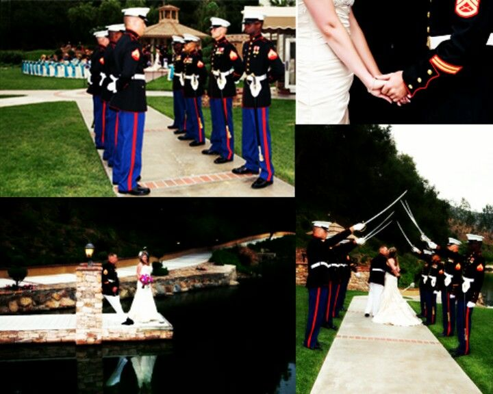 Marine Corps Wedding