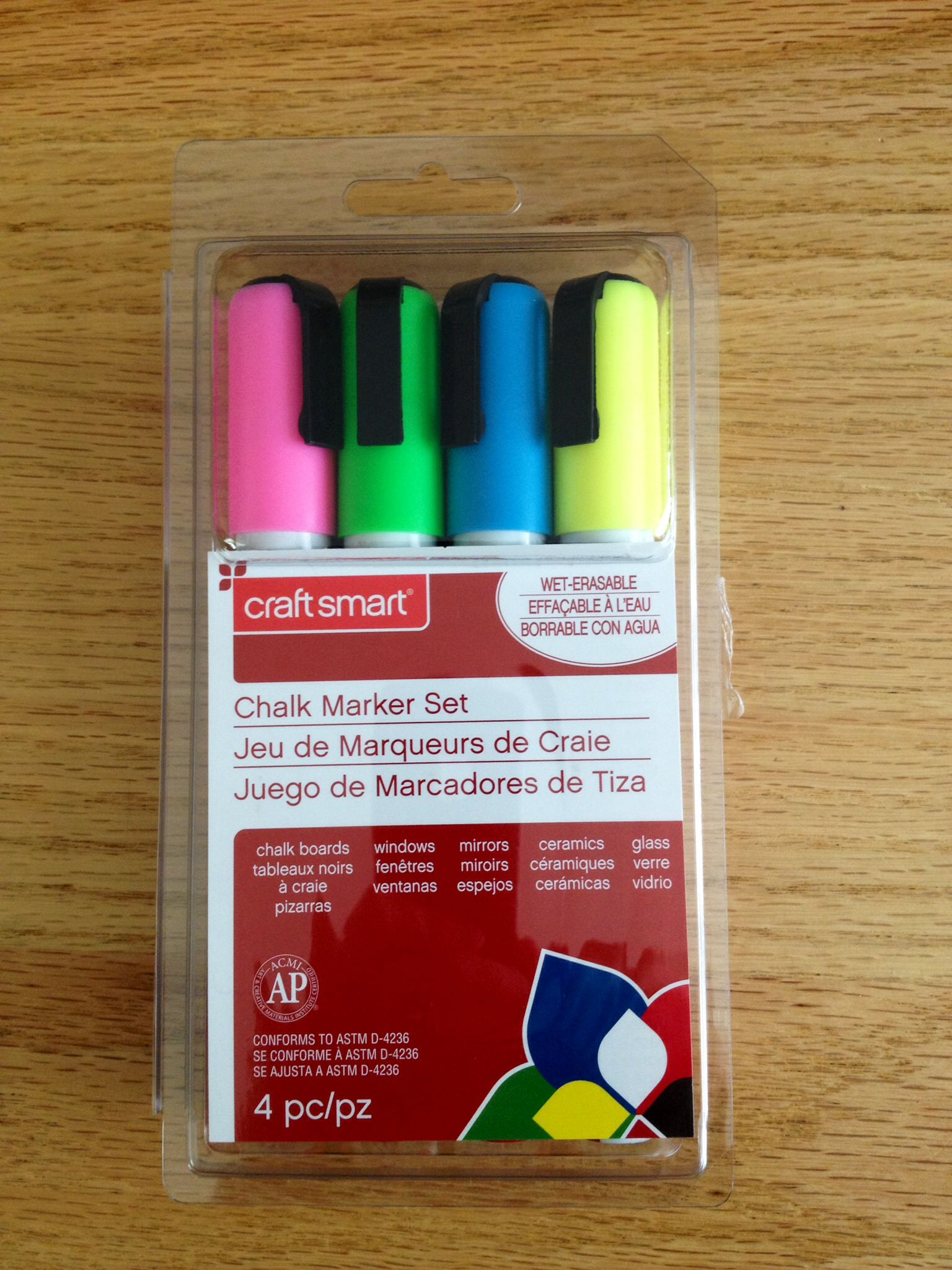 Craft Smart Chalk Marker Set Michaels 11 99 Chalk Markers Markers Set Markers