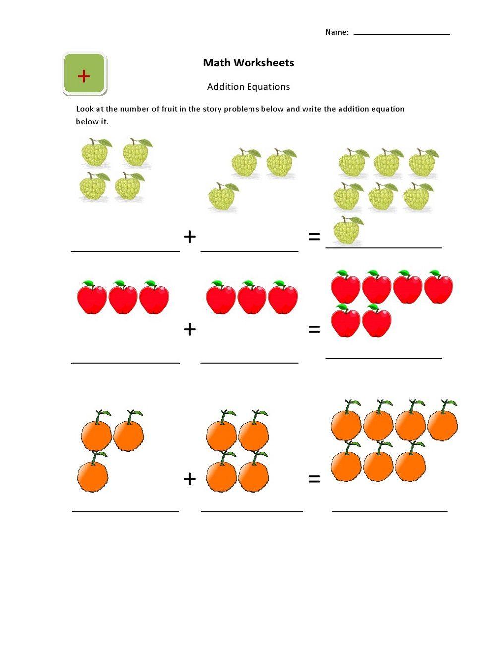 Ukg Worksheets Kindergarten Learning Activities Touch Math Math Worksheets