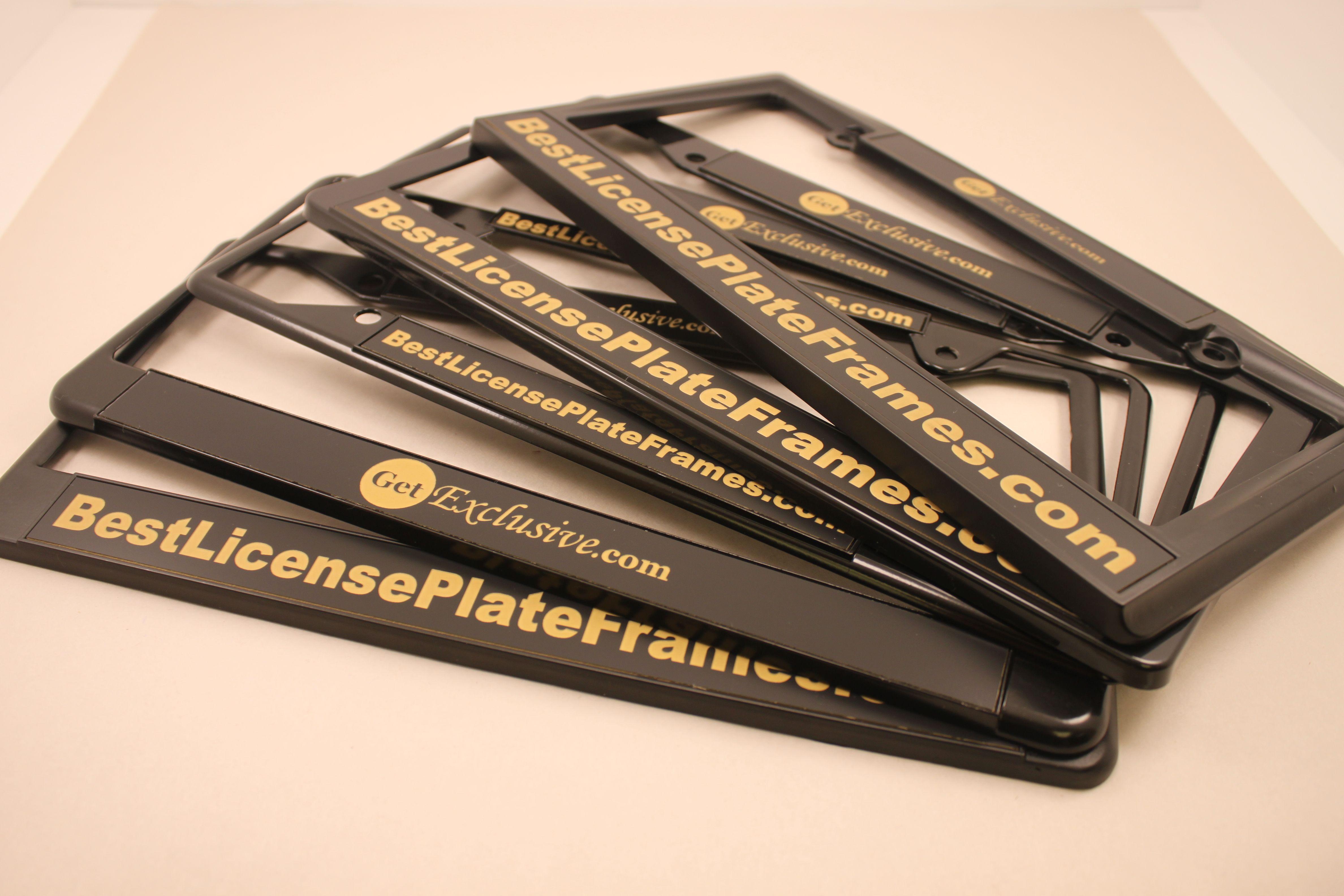 8 best frames for new black and gold california 1960 legacy plates rh pinterest com