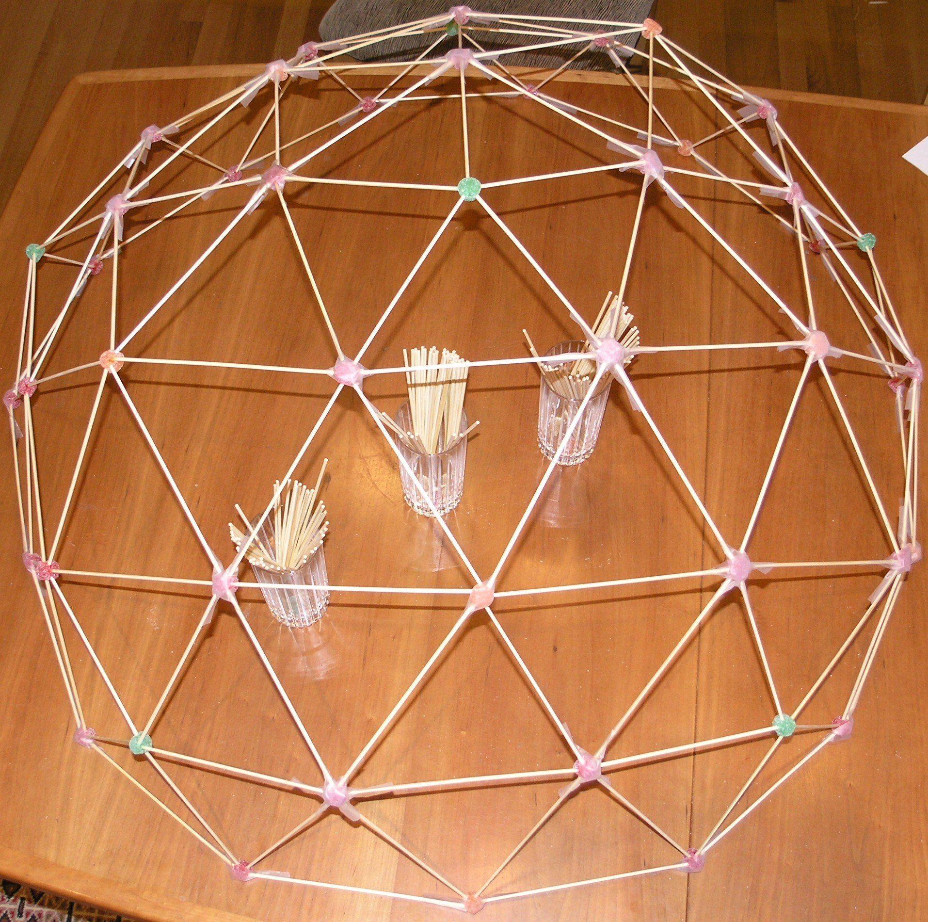 chapter 9 mathematics build a homemade geodesic dome garden rh pinterest com