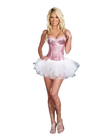 pink burlesque bunny bustierfor the perfect elle woods