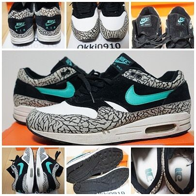 $600 shipped | NIKE AIR MAX 1 PREMIUM Elephant Sz 10 in gently used  condition no
