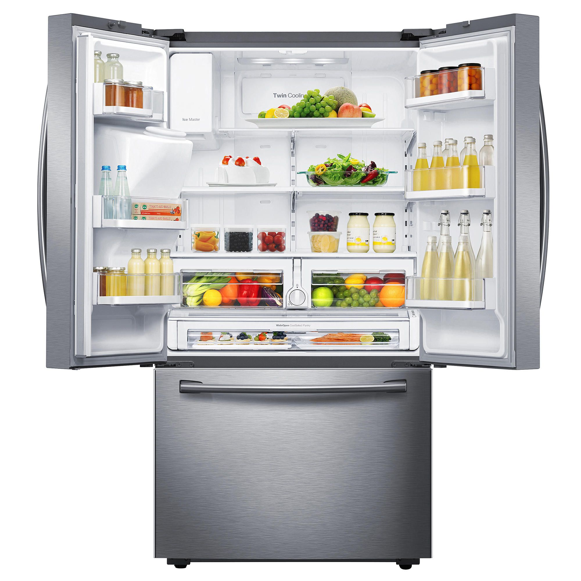 Samsung 28 Cu Ft French Door Refrigerator Fresh And