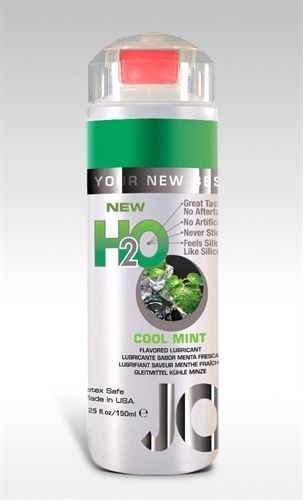 New System Jo Water H2o Flavored Lubricant Lube Cool Mint 4oz