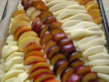 Quark-Öl-Teig für Obst kuchen - Rezept