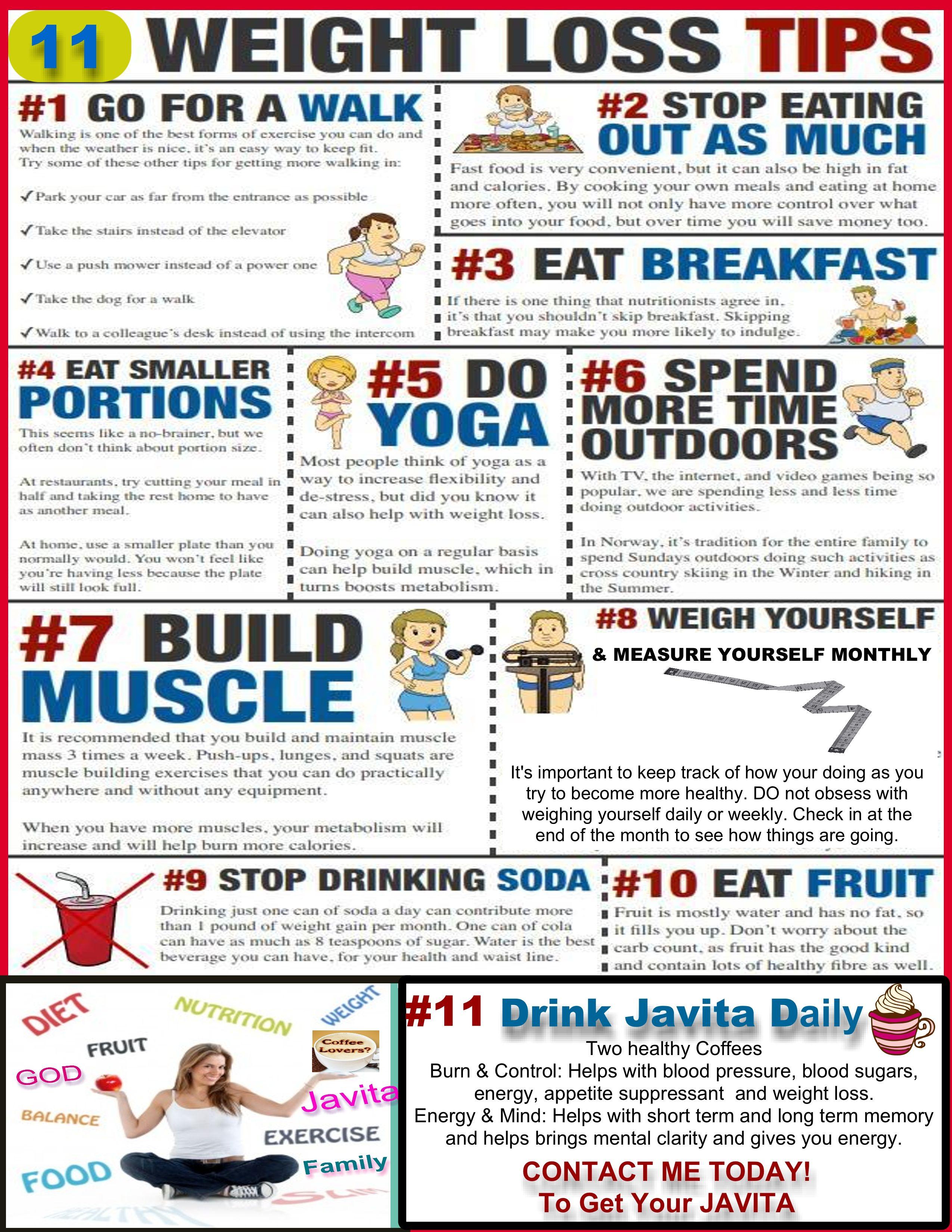 11 Tips For Weight Loss Javita Weight Loss Coffee Garcinia
