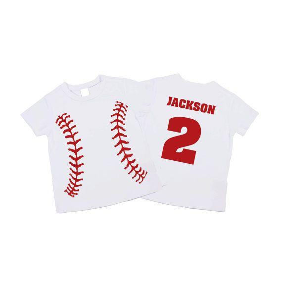 Baseball 2nd Birthday