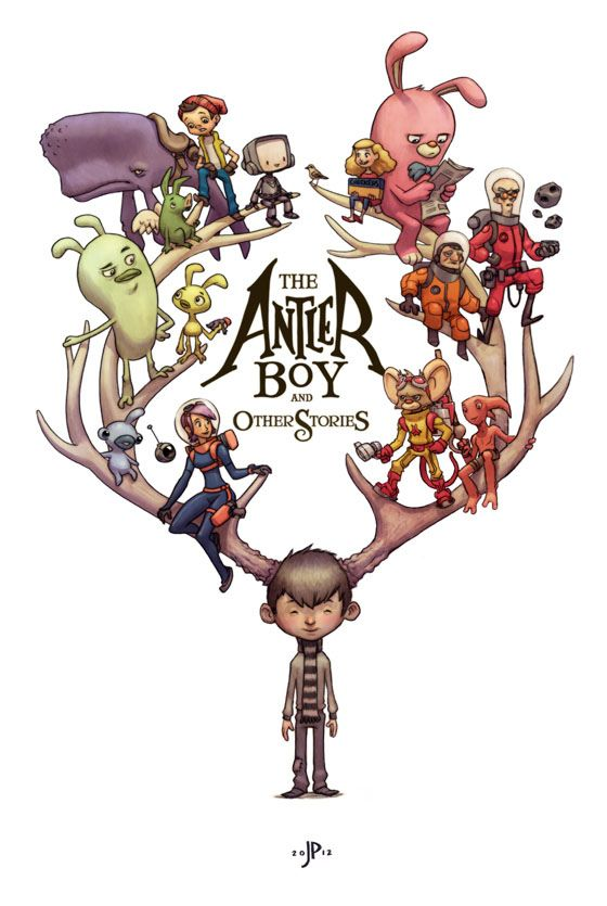The Antlerboy and other stories | Illustration by Jake Parker