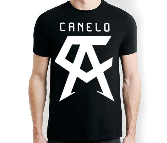 b184a221 Saul Canelo Alvarez Logo T Shirt Boxing Champion Jalisco Born Ready Mens  New Tee