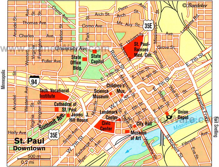 awesome Map of MinneapolisSt Paul Tourist Travelquaz Pinterest