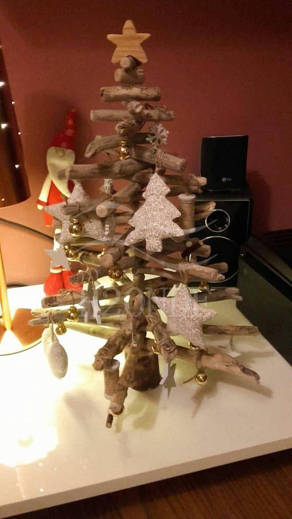 Weihnachtsbaum Dekoration Tanne Rustikale Holzmöbel Moderne Minimalistische  Natürlichen See Moderne Herzstück Ornament Weihnachtsgeschenk Frohe  Weihnachten ...