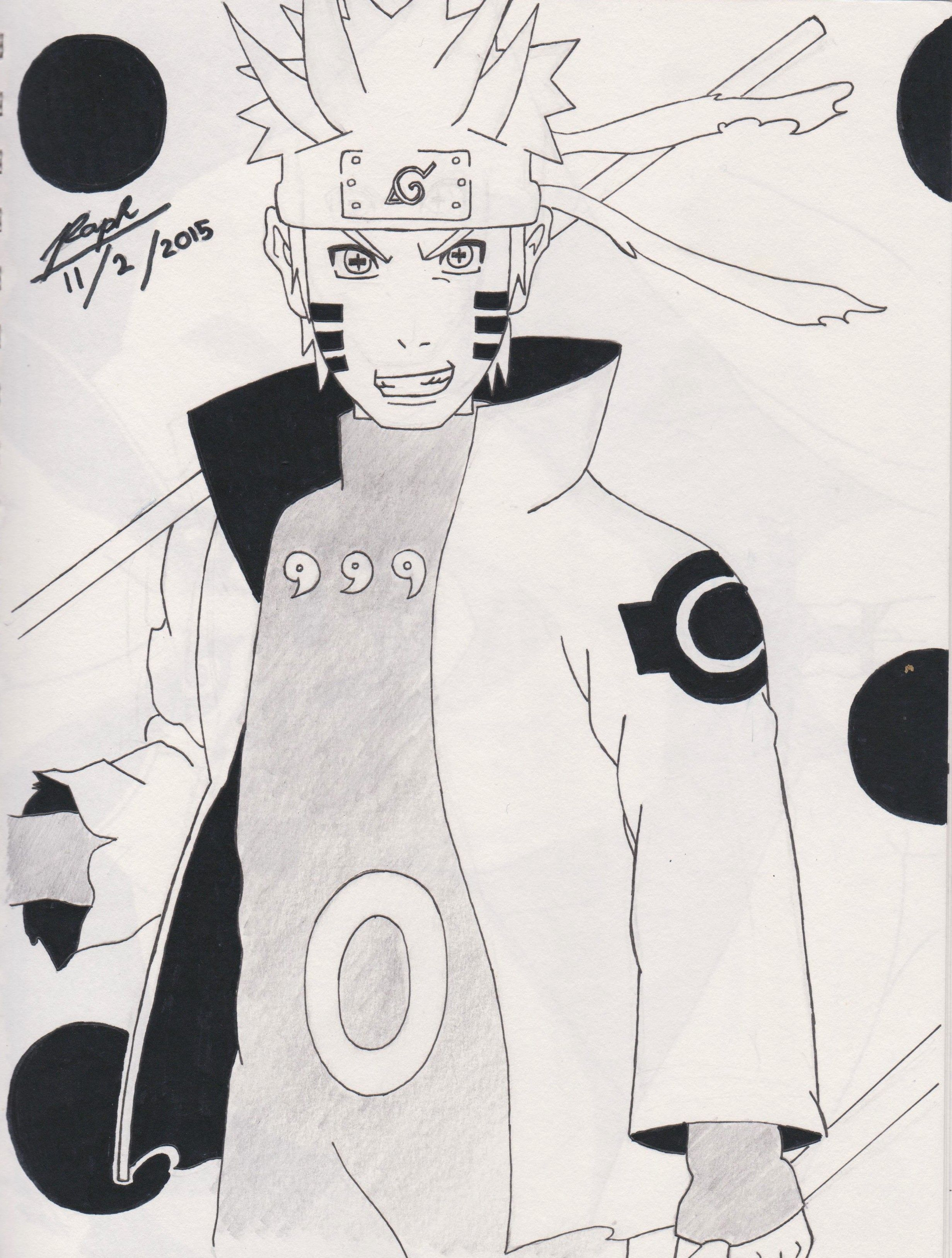 Naruto In Six Paths Mode 11th Feb 2015 With Images Naruto