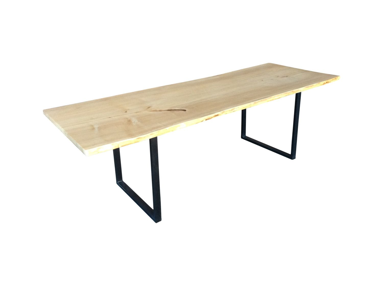 natural edge slab dining table cottonwood live edge slab slab rh pinterest de