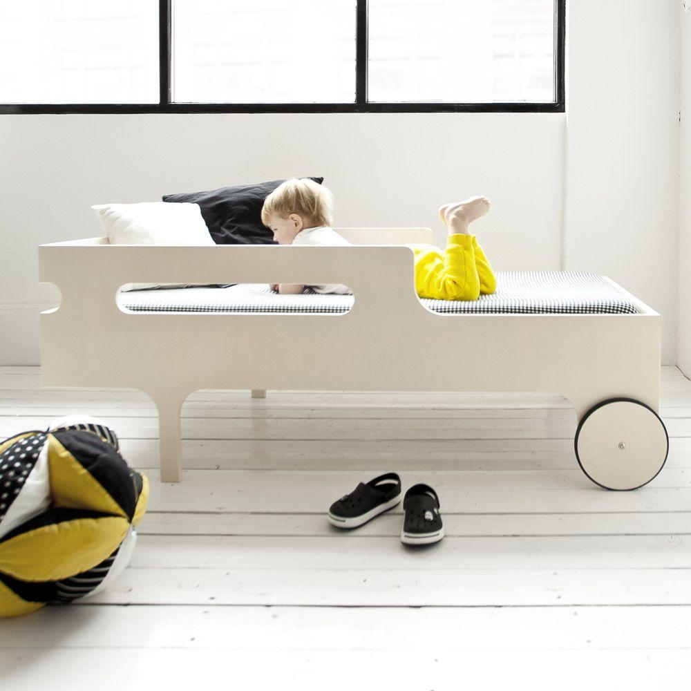 Rafa-kids – R Toddler bed in white wash