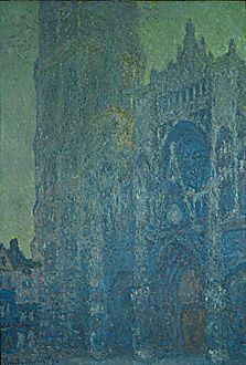 La Cathedrale de Rouen, Morning, White Harmony, Claude Monet