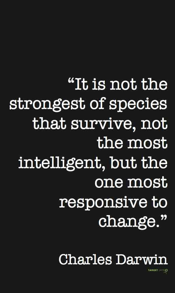 What Is Inbound Marketing And Why Should You Care Darwin Quotes Intelligence Quotes Inbound Marketing Quotes