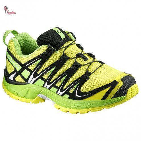 Salomon XA Pro 3D K Corona Jaune Granny Vert Noir 30 - Chaussures salomon (*