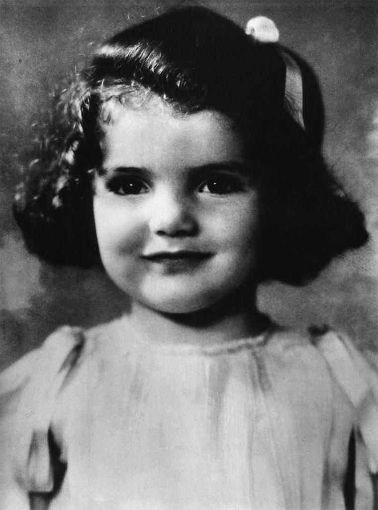 Jackie Kennedy at age 3