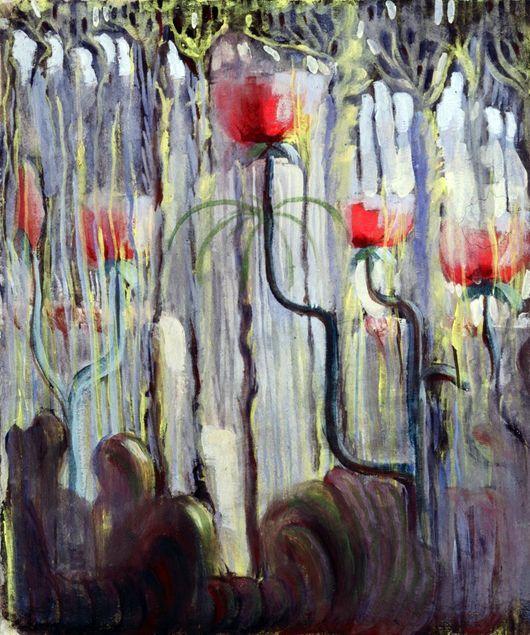 Описание картины Микалоюса Чюрлениса «Сотворения мира ...