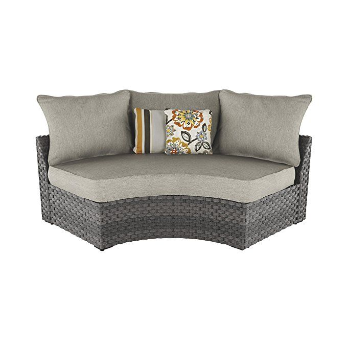 ashley furniture signature design spring dew outdoor curved corner rh pinterest ie