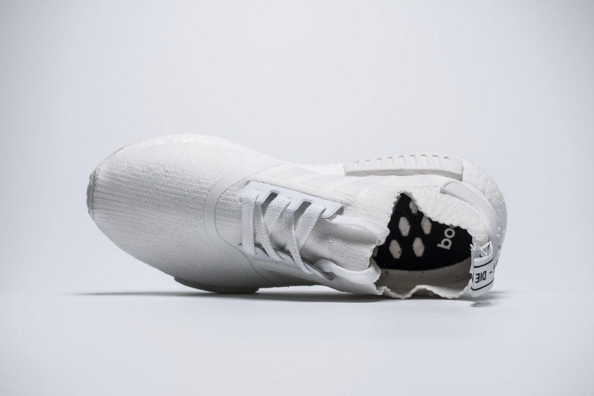 68c2f2206 Adidas Originals NMD Primknit PK BA8629 Triple White Real Boost for Sale6