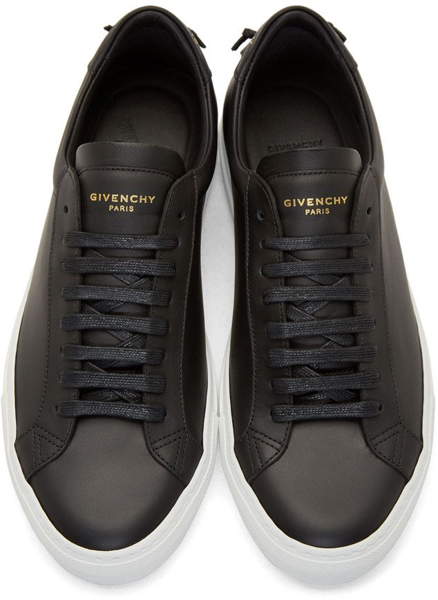 uk availability 6100f 7c25a Givenchy Black Codification Low-Top Sneakers …