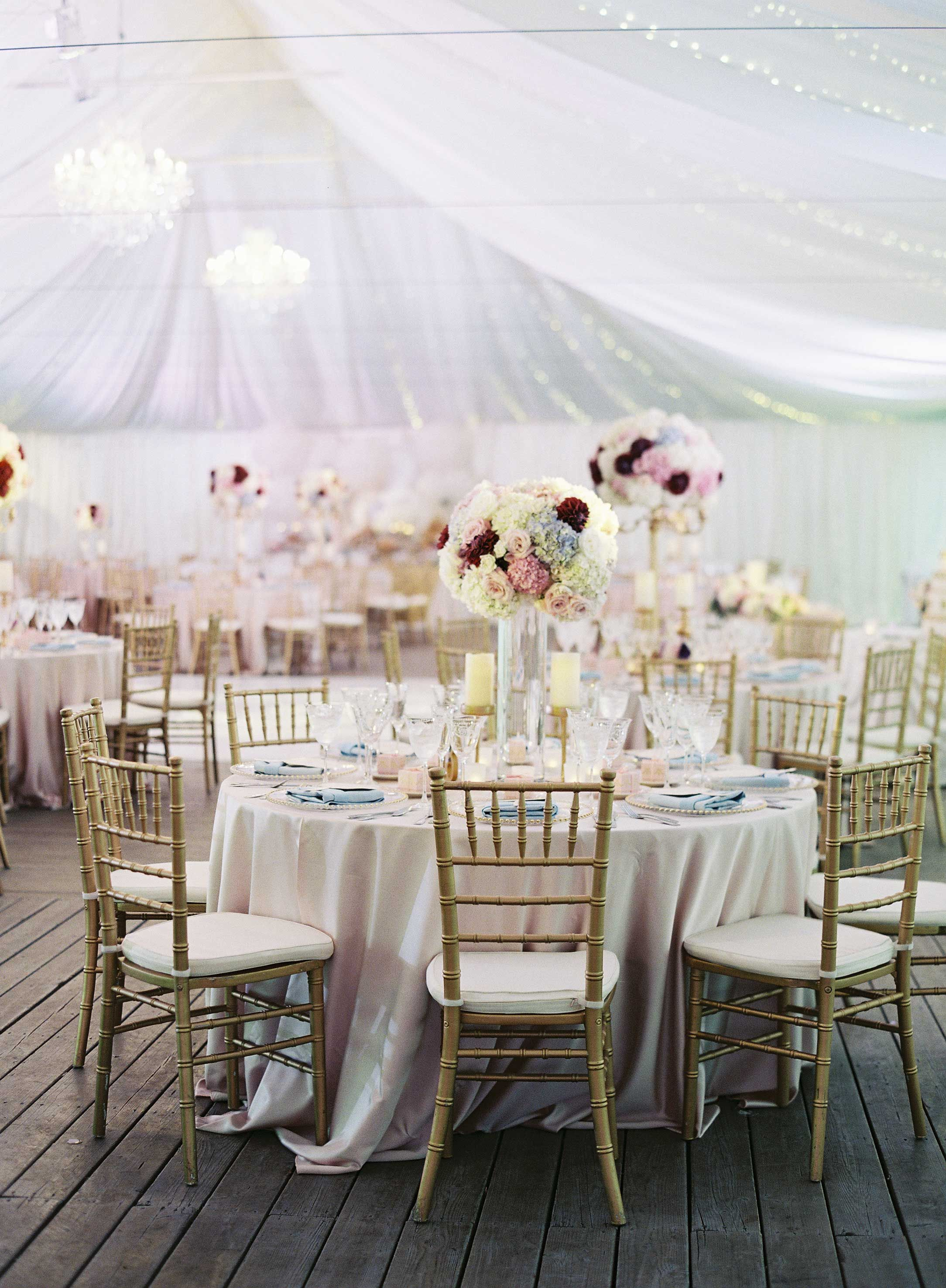 Magical Garden Ceremony + Tented Reception with Chic French Theme ...