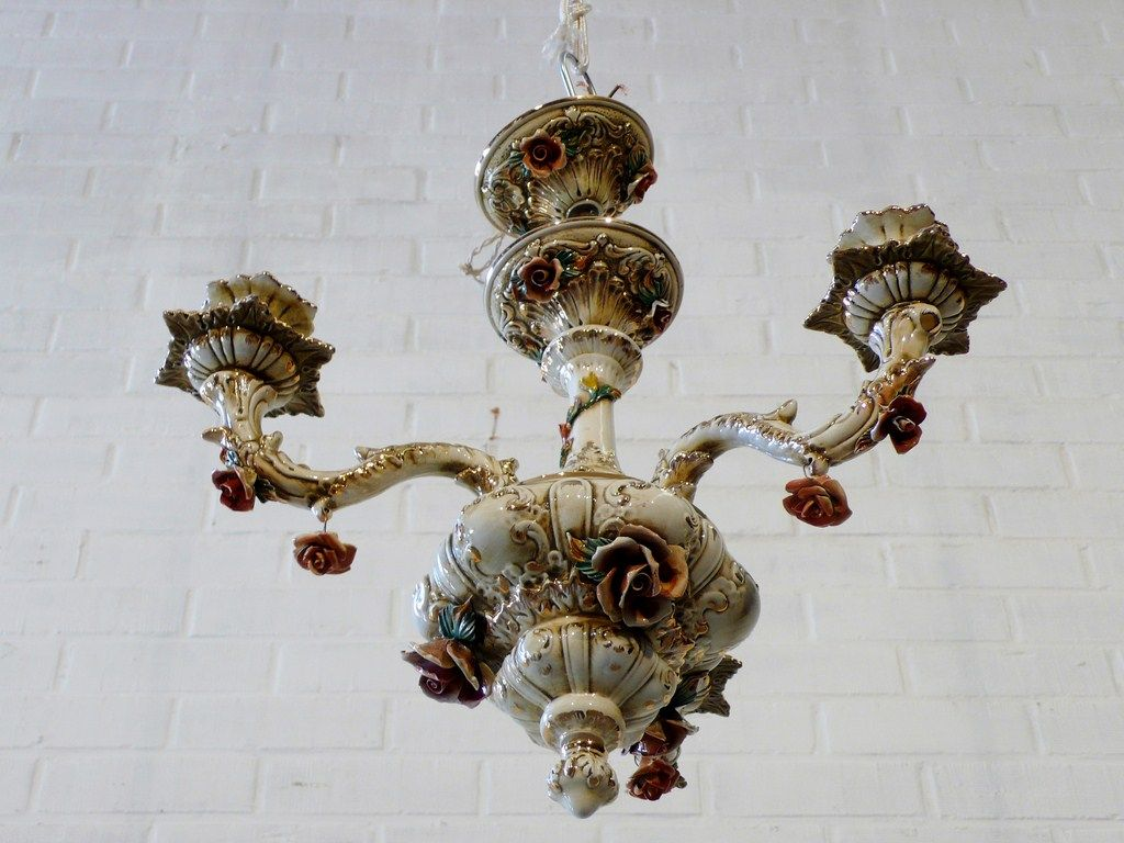 Italian Porcelain Mirror | similar italian porcelain chandeliers ...
