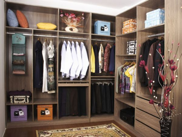 pvc with laminate closets and vanities