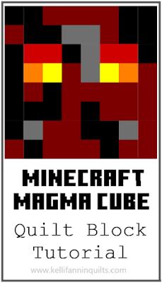 Minecraft Quilt Block Tutorials Magma Cube In 2020 Minecraft Quilt Quilt Block Tutorial Quilts Magma cream is an item from vanilla minecraft. pinterest