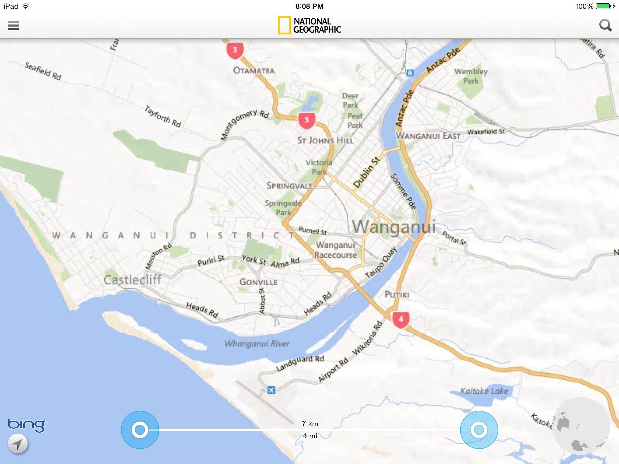 Wanganui New Zealand Map.Map Of Wanganui New Zealand Kiwi Land New Zealand New