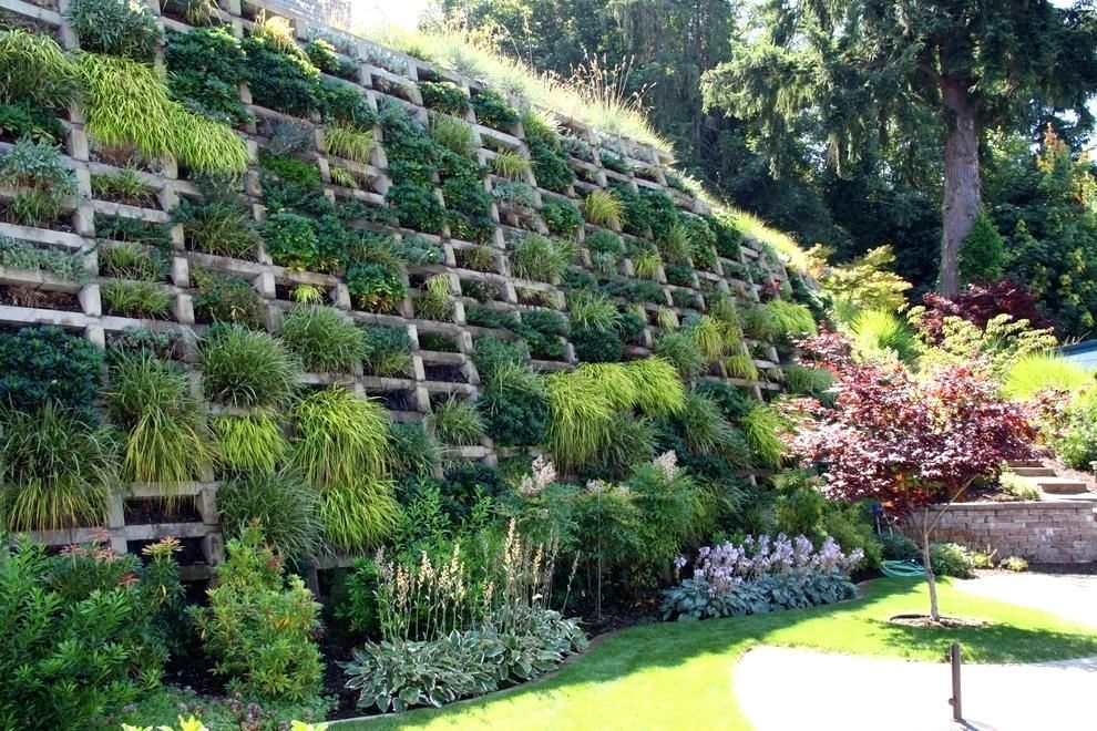 slope landscape ideas path wonderful garden design on ... on Steep Sloping Garden Ideas id=16464
