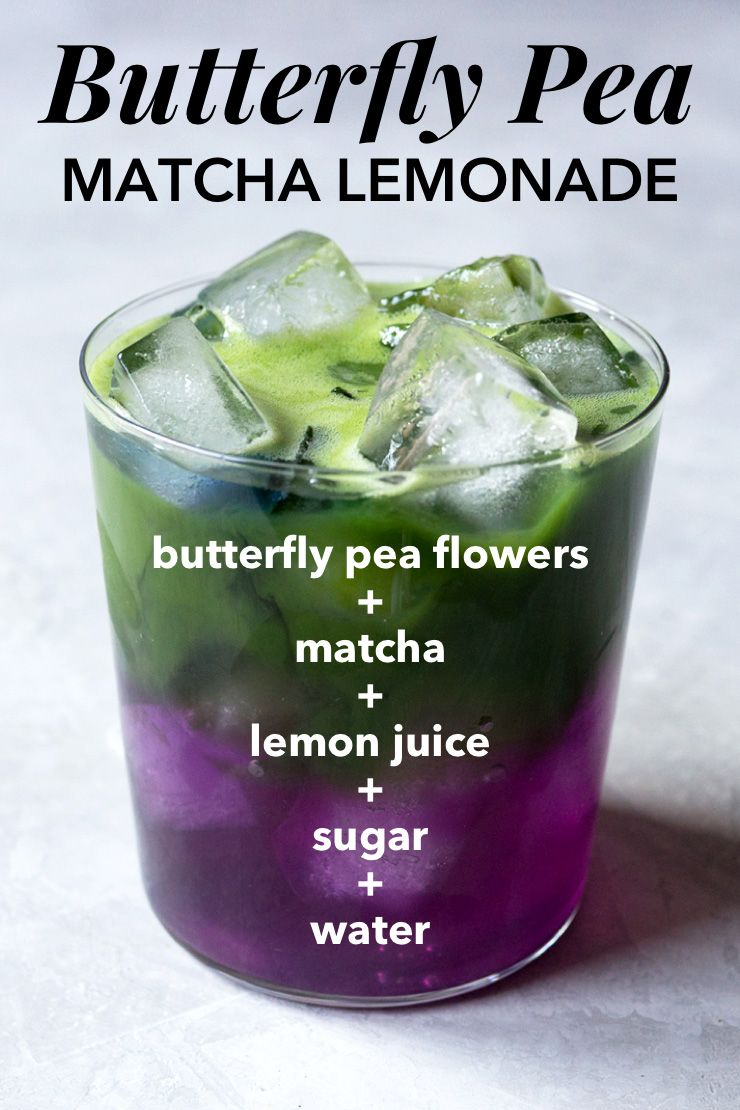 To make butterfly pea flower tea, the flowers with its