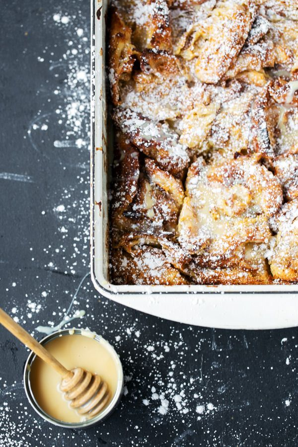 Cinnamon Croissant French Toast Bake images