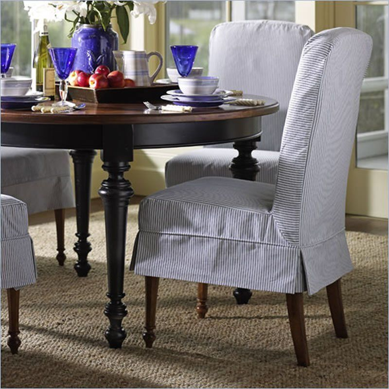 Dining Room Parson Chairs Ideas Mixing Old New Table With Heavy Ornate Legs