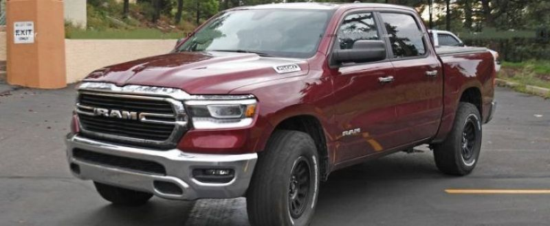 The Upcoming 2020 Ram 1500 Trx Comes With A Very Modern Interior Comfort Is Great Even With The Standard Cloth Upholstery Cool Trucks Ram 1500 Hellcat
