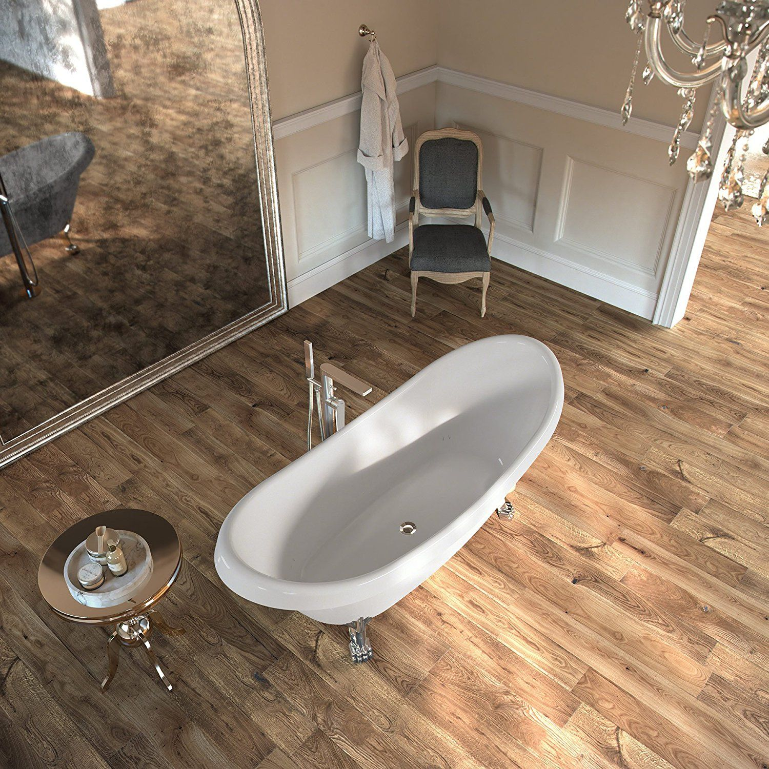Can Laminate Flooring Be Installed In A Bathroom Answered Laminate Flooring Bathroom Vinyl Plank Flooring Laminate Flooring