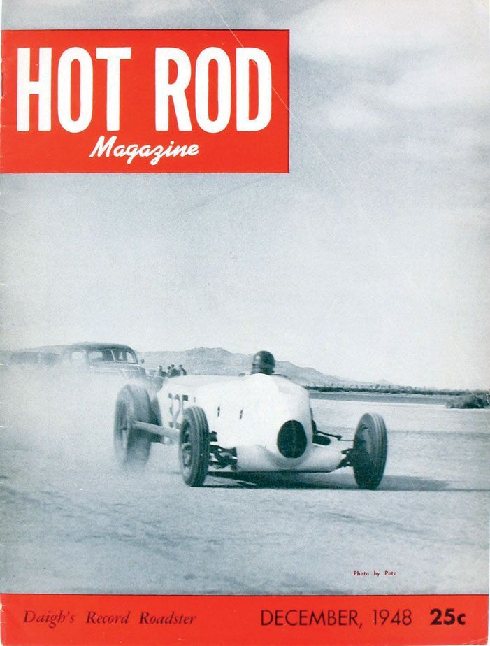 HOT ROD, December 1948. See every HOT ROD cover at… | HOT ROD ...